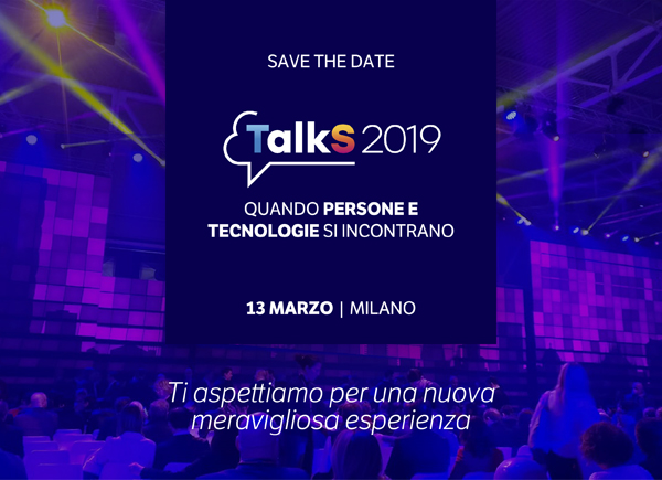 TalkS 2019 for WELLNESS - Quando persone e tecnologie si incontrano